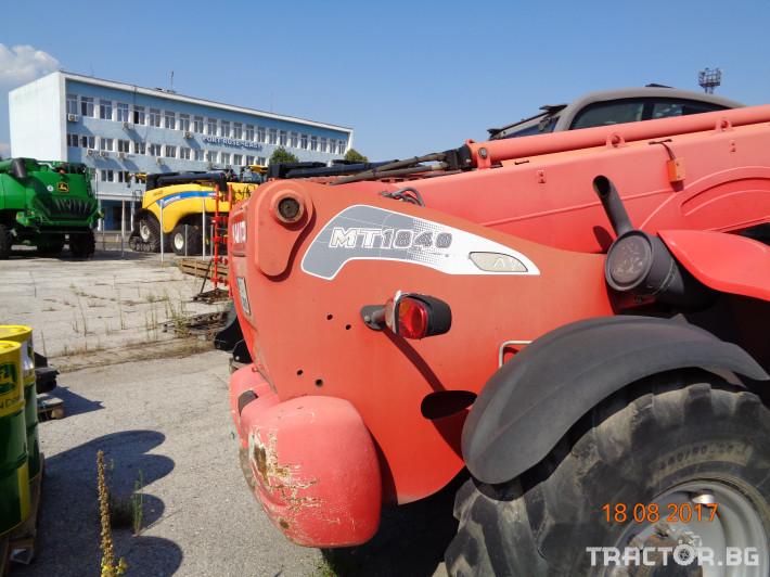 Телескопични товарачи Manitou MT1840 1 - Трактор БГ