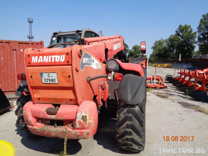 Телескопични товарачи Manitou MT1840 2 - Трактор БГ