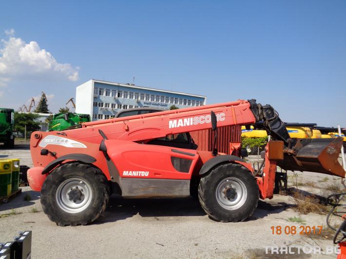 Телескопични товарачи Manitou MT1840 0 - Трактор БГ