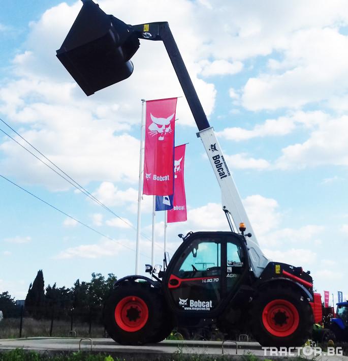 Телескопични товарачи Bobcat TL30.70 2 - Трактор БГ
