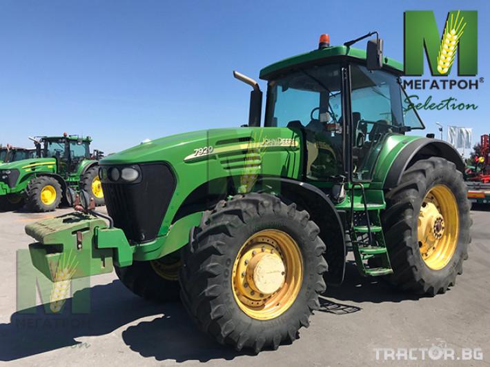 Трактори John-Deere 7920 1 - Трактор БГ