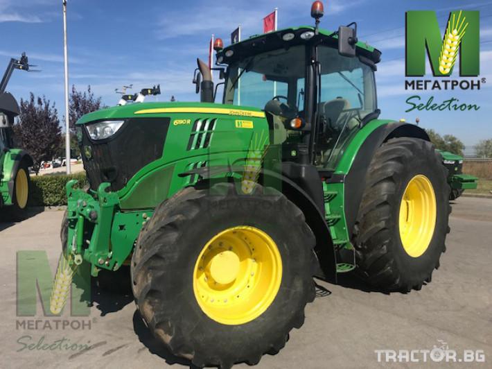 Трактори John-Deere 6190R 19 - Трактор БГ