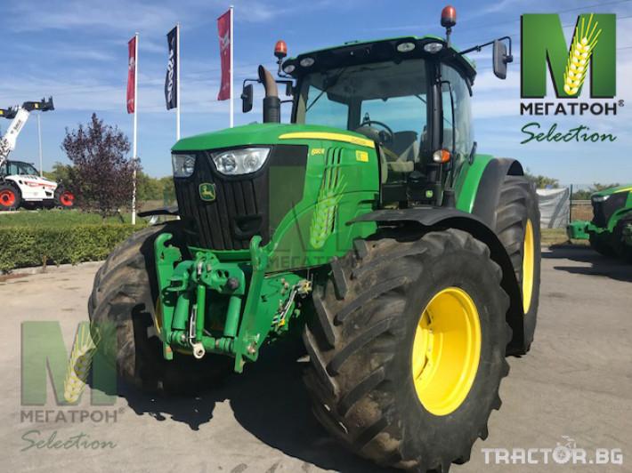 Трактори John-Deere 6190R 21 - Трактор БГ