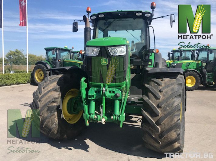 Трактори John-Deere 6190R 22 - Трактор БГ