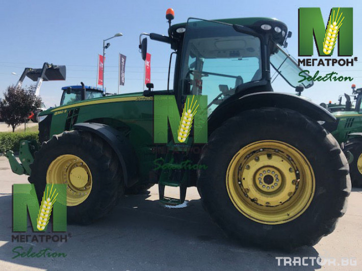 Трактори John-Deere 8360R 0 - Трактор БГ