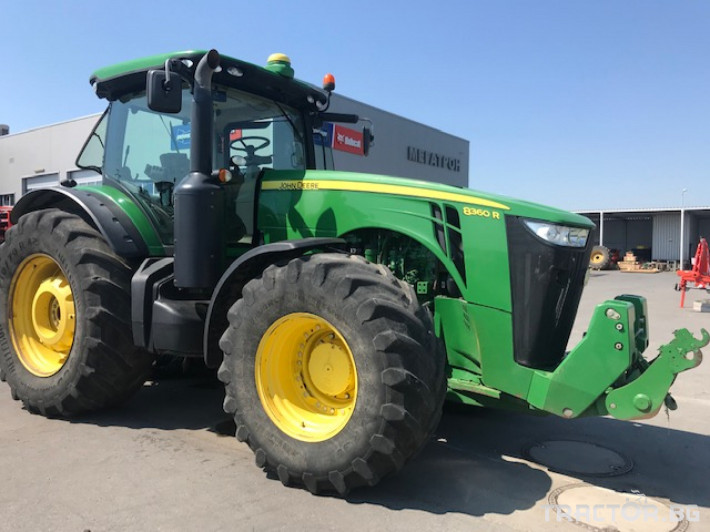 Трактори John-Deere 8360R 2 - Трактор БГ