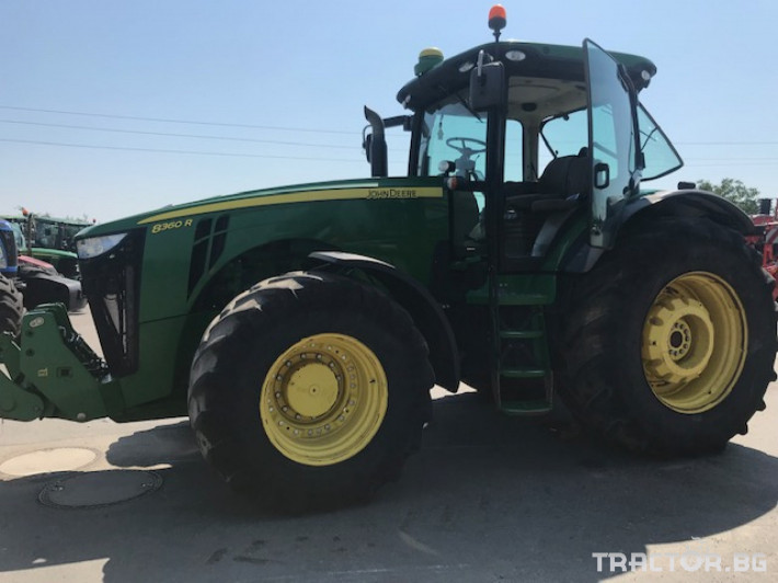 Трактори John-Deere 8360R 9 - Трактор БГ