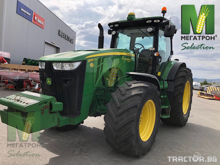 Трактори John-Deere 8285R 5 - Трактор БГ