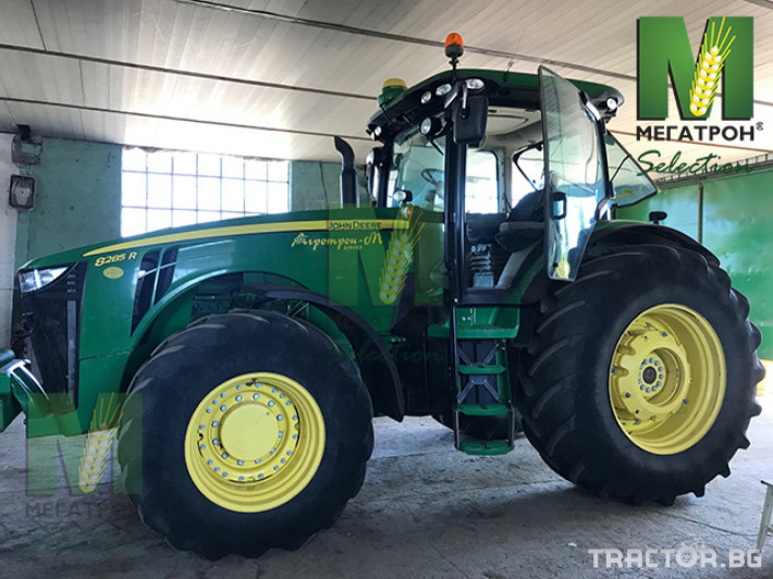 Трактори John-Deere 8285R 18 - Трактор БГ