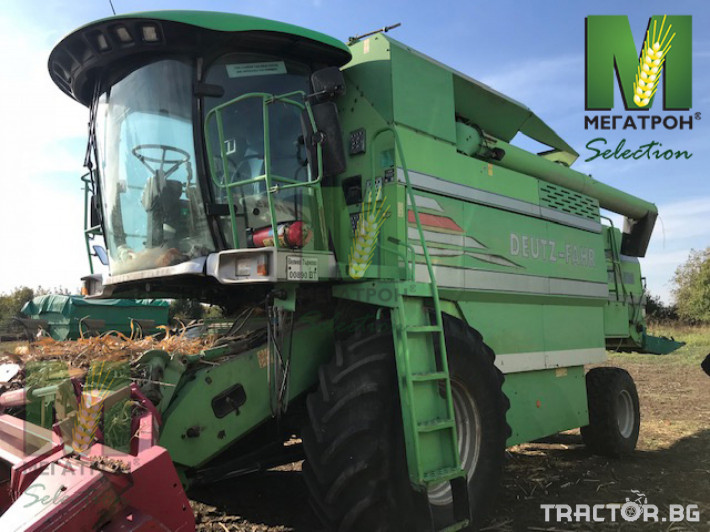 Комбайни Deutz-Fahr 5680 HTS 0 - Трактор БГ