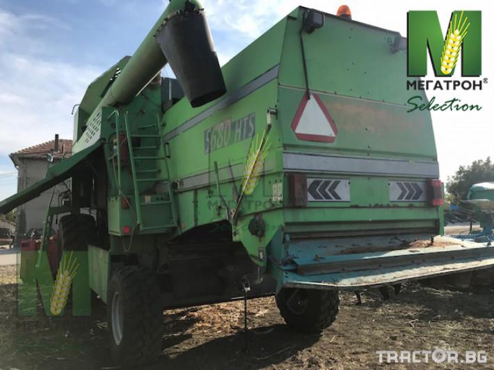 Комбайни Deutz-Fahr 5680 HTS 5 - Трактор БГ