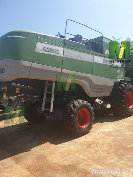 Комбайни Fendt 6300C 1 - Трактор БГ