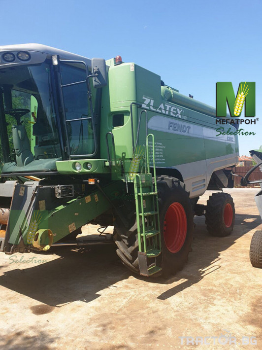 Комбайни Fendt 6300C 6 - Трактор БГ
