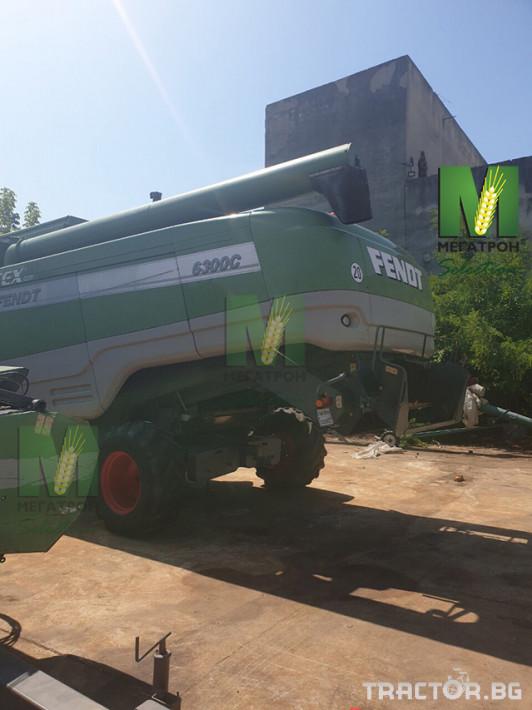 Комбайни Fendt 6300C 8 - Трактор БГ