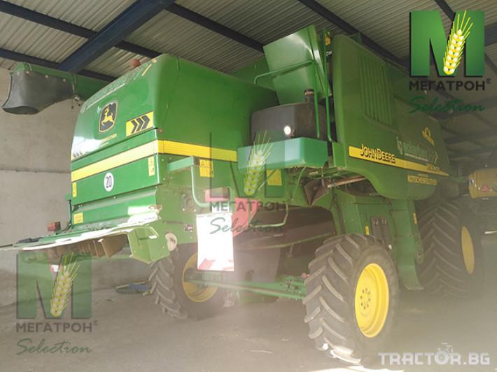 Комбайни John-Deere 9680HM WTS 9 - Трактор БГ