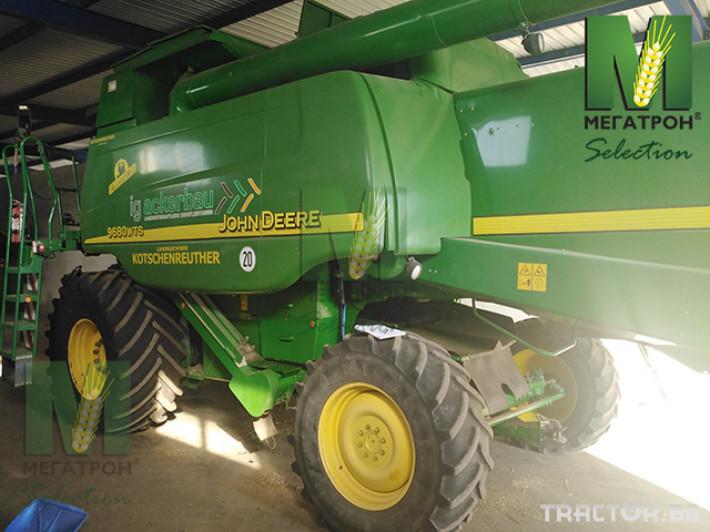 Комбайни John-Deere 9680HM WTS 15 - Трактор БГ
