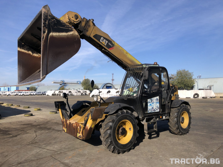 Телескопични товарачи Caterpillar TH414 0 - Трактор БГ