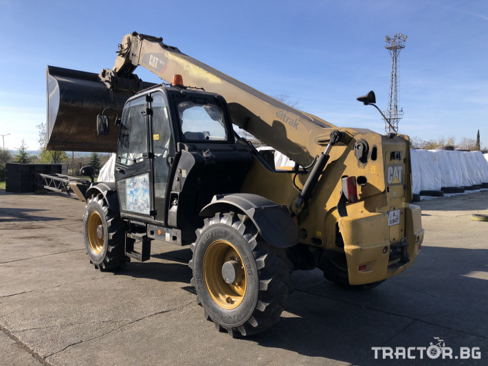 Телескопични товарачи Caterpillar TH414 3 - Трактор БГ