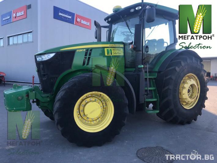 Трактори John-Deere 7230R 6 - Трактор БГ