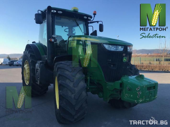 Трактори John-Deere 7230R 8 - Трактор БГ