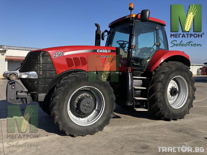 Трактори CASE-IH MAGNUM 250 2 - Трактор БГ