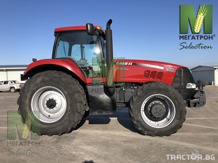 Трактори CASE-IH MAGNUM 250 7 - Трактор БГ