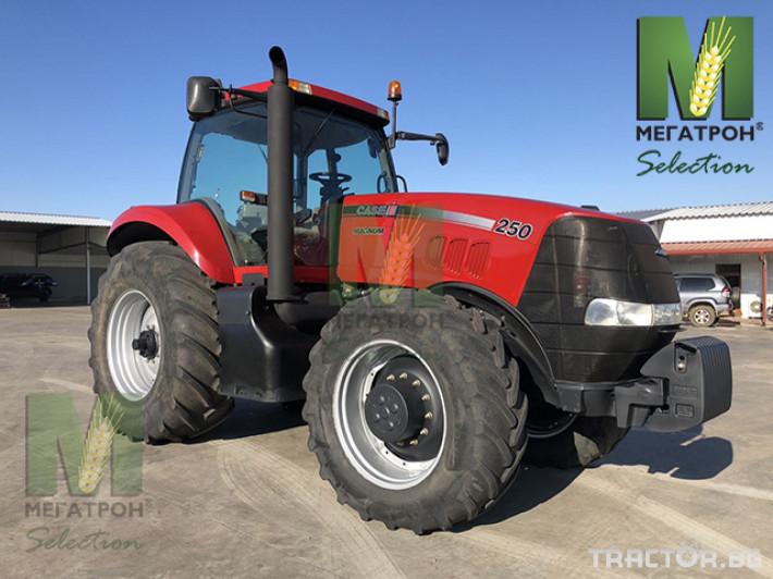Трактори CASE-IH MAGNUM 250 8 - Трактор БГ