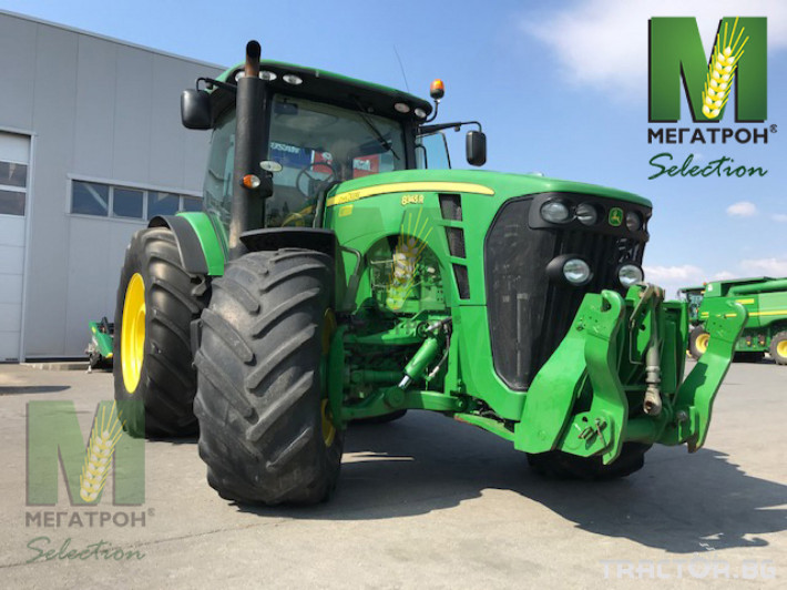 Трактори John-Deere 8345R 0 - Трактор БГ