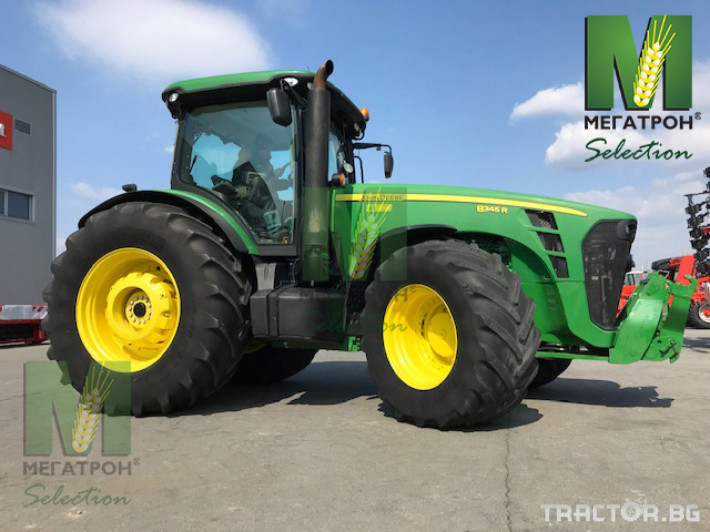Трактори John-Deere 8345R 1 - Трактор БГ