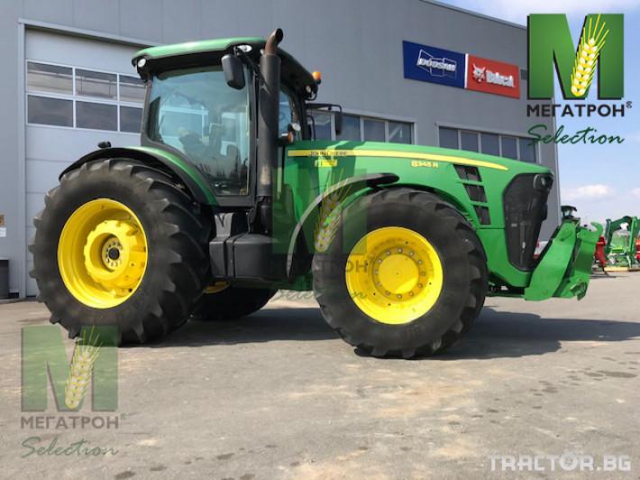 Трактори John-Deere 8345R 2 - Трактор БГ