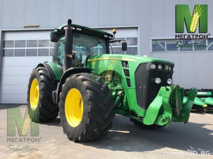 Трактори John-Deere 8345R 9 - Трактор БГ