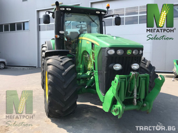 Трактори John-Deere 8345R 10 - Трактор БГ