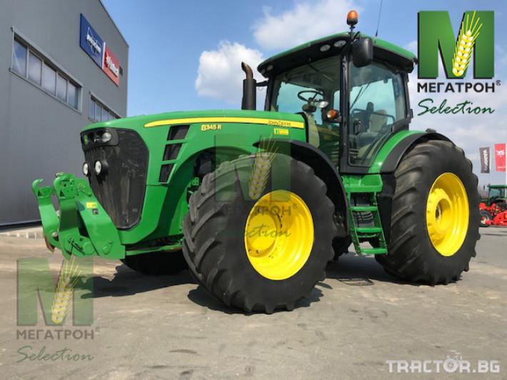 Трактори John-Deere 8345R 13 - Трактор БГ