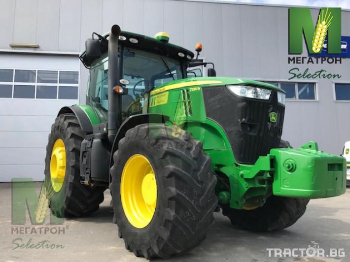 Трактори John-Deere 7230R 1 - Трактор БГ