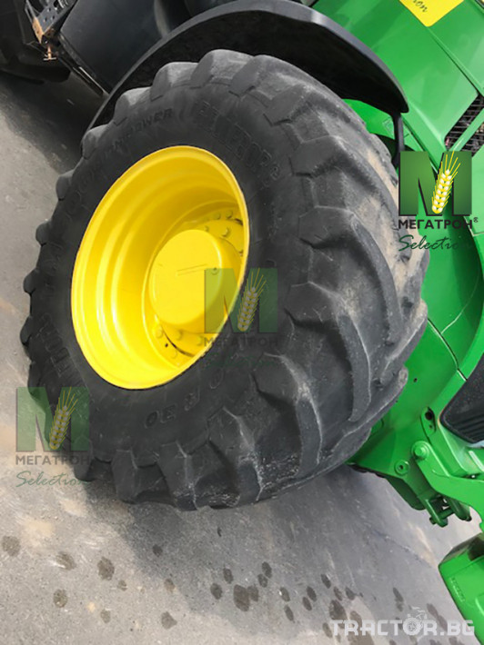 Трактори John-Deere 7230R 9 - Трактор БГ