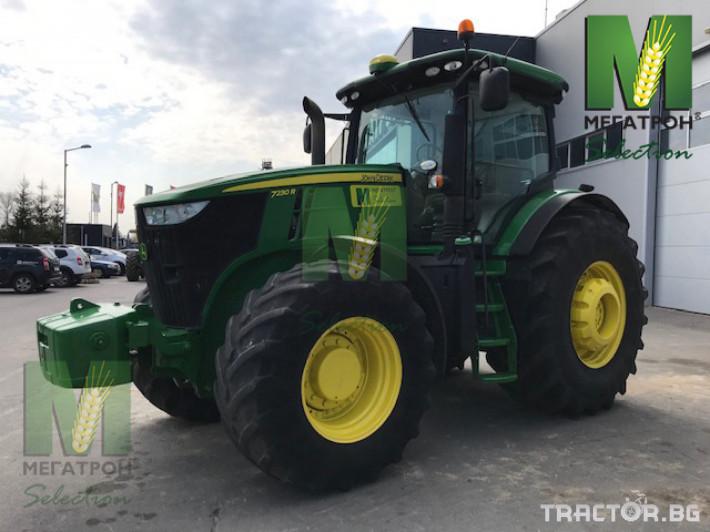 Трактори John-Deere 7230R 10 - Трактор БГ