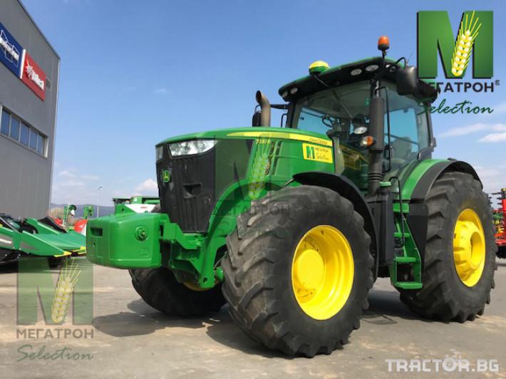 Трактори John-Deere 7230R 14 - Трактор БГ
