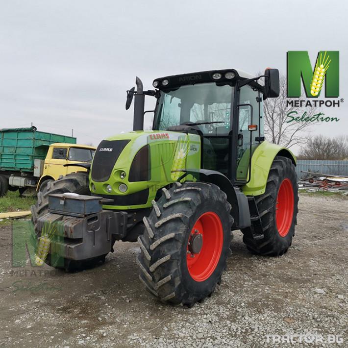 Трактори Claas ARION 630C 3 - Трактор БГ