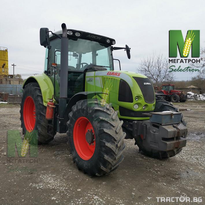 Трактори Claas ARION 630C 4 - Трактор БГ