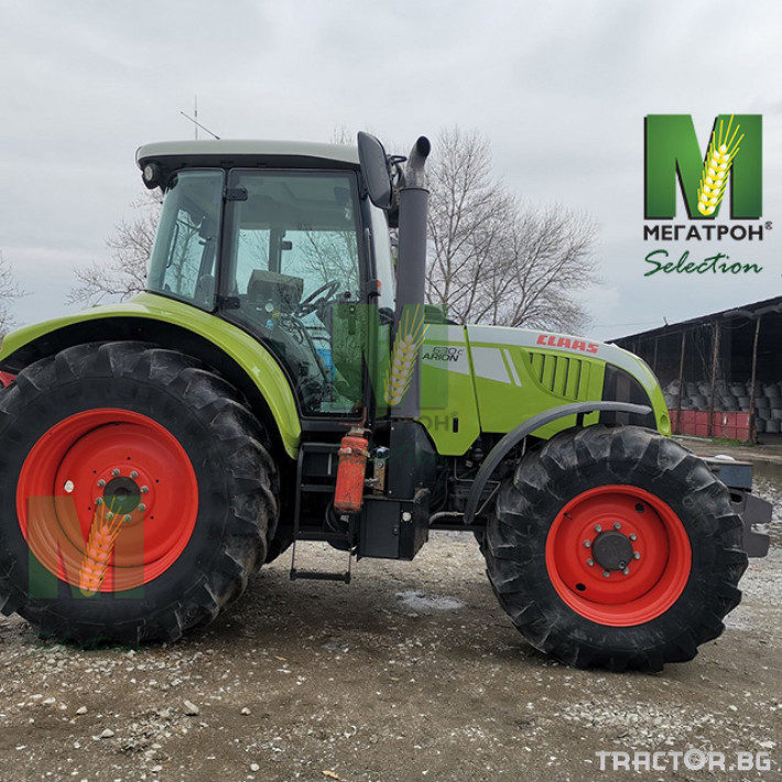 Трактори Claas ARION 630C 5 - Трактор БГ