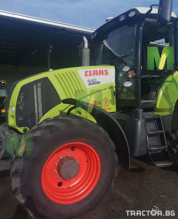 Трактори Claas Axion 840 10 - Трактор БГ