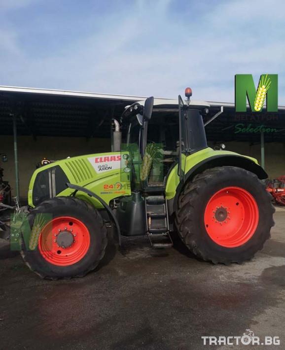 Трактори Claas Axion 840 13 - Трактор БГ