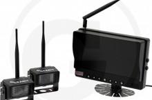 """Дисплей GRANIT 9"""" с 2 камeри, безжична с-ма за задно виждане"""