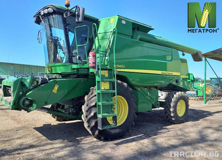 Комбайни John-Deere W540C 0 - Трактор БГ