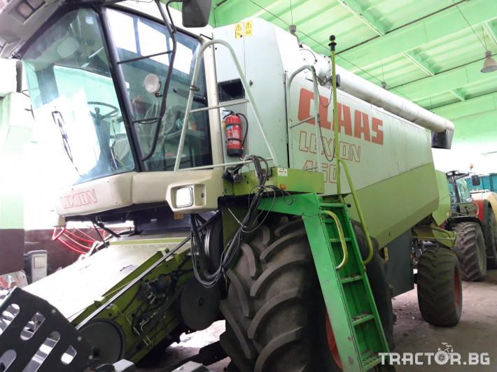 Комбайни Claas Lexion 450 6 - Трактор БГ