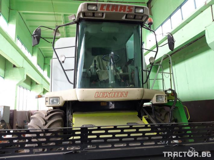 Комбайни Claas Lexion 450 7 - Трактор БГ
