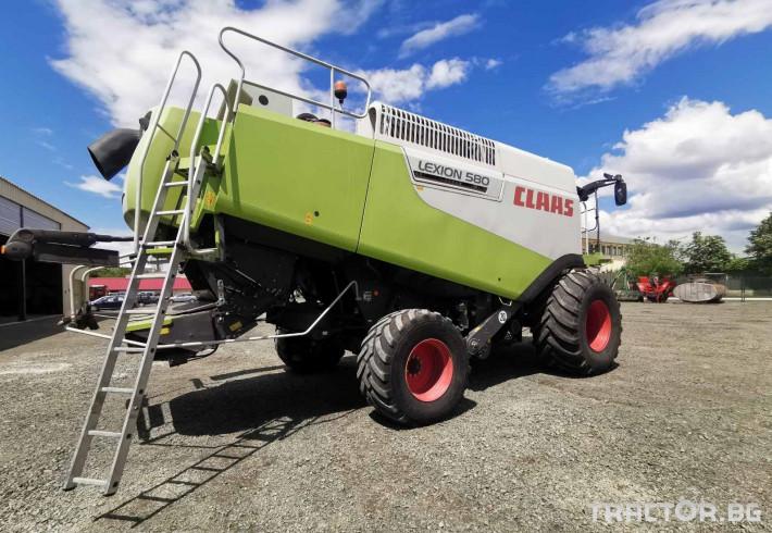 Комбайни Claas Lexion 580 1 - Трактор БГ