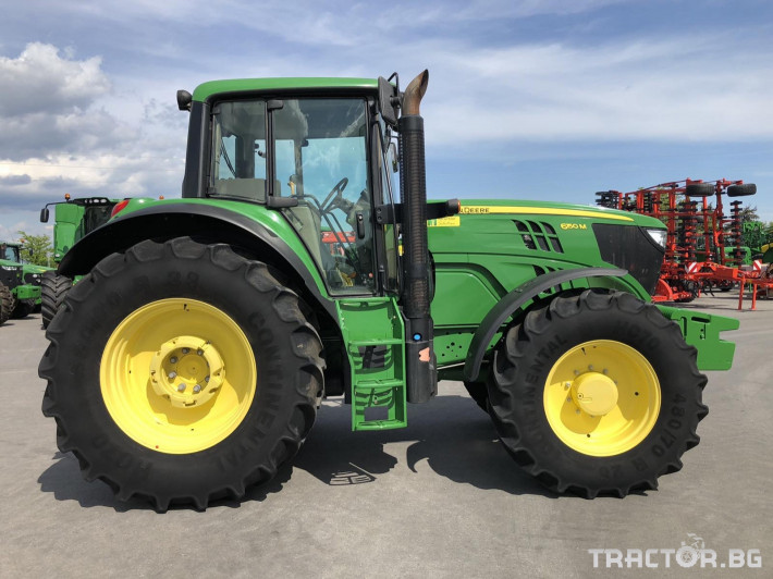 Трактори John-Deere 6150M 2 - Трактор БГ